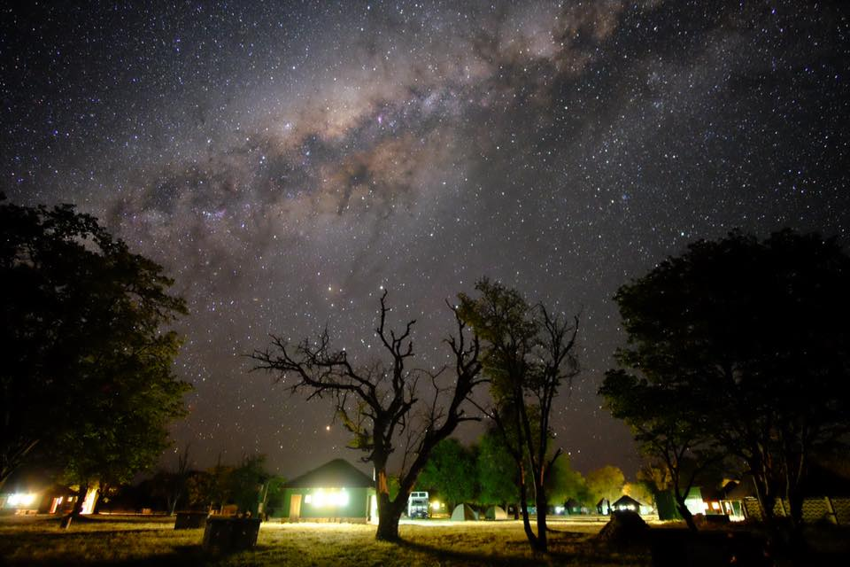 hwange milky way